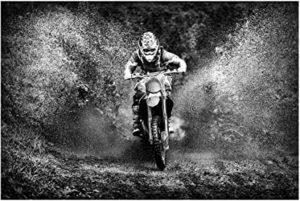 Fototapeten Motocross