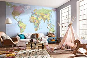 Fototapeten Weltkarte