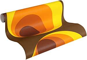 Tapeten Orange