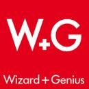 Wizard + Genius Logo