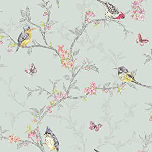 Vogel Tapeten